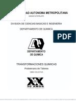 Departamento de Quimica Uam i Transformaciones Quimicas Prob
