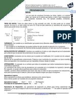 Contenido de Temario de III de Bachillerato 2015