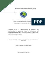 Estudio Para La Optimización de Sistemas de Levantamiento Artificial Para La Producción de Petróleo en Pozos de La Zona Central Del Campo Ancón