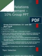 10% PPT LRM