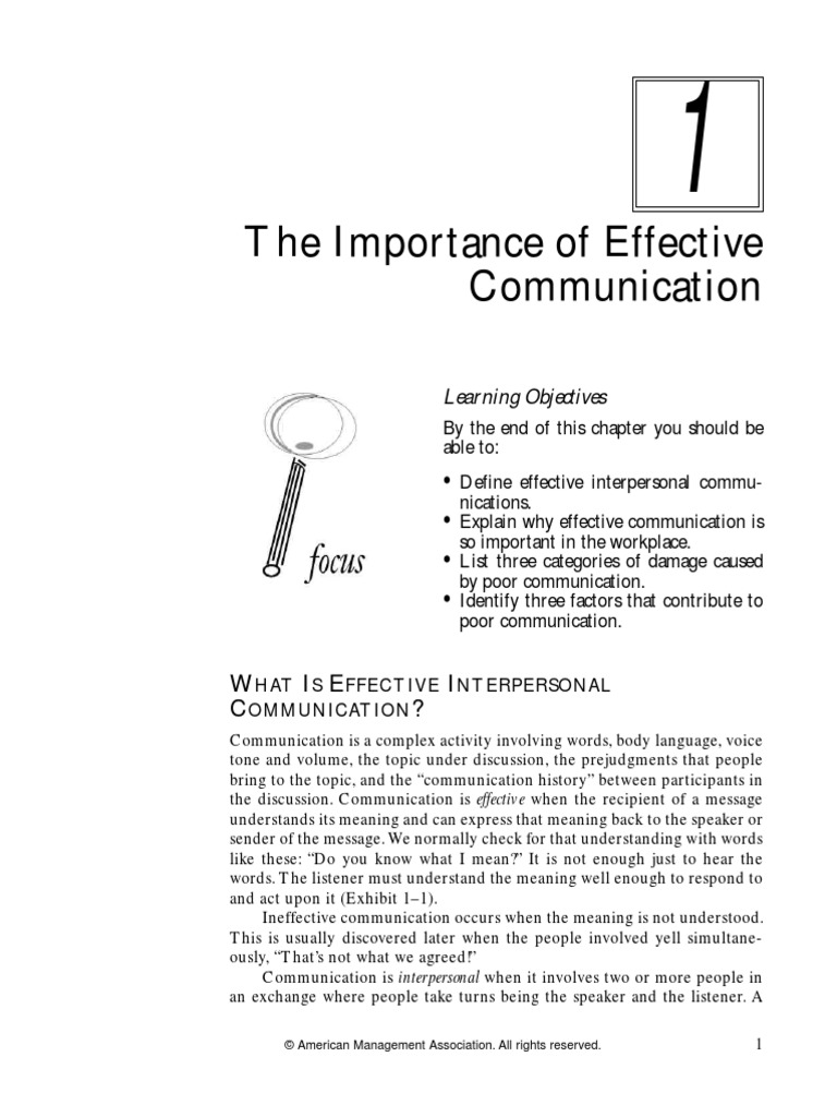 what are the three factors of communication