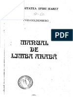 Manual de Limba Araba_Yves Goldenberg