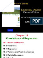 Chapter 10 Elementary Statistics