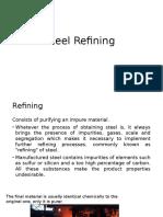 Steel Refining