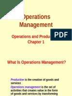 Operations Management Lec 01 - Intro