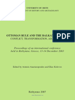 Ottoman Rule and the Balkans 1760-1850