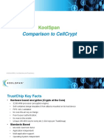 KoolSpan Comparison to CellCrypt