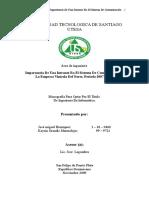 Importancia De Una Intranet En El Sistema De Comunicación En La Empresa Vinícola Del Norte, Periodo 2007 - 2008