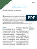 Reserva Cognitiva y Habilidades Lingüísticas en Mayores