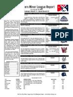 4.9.16 Minor League Report