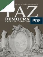 La OEA - Paz y Resolución de conflictos