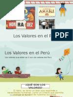 Los Valores en El Perú