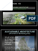 7 - Sustainable Architecture