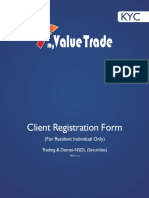 My Value Trade Equity DP NSDL Form