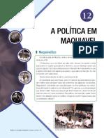 A Política Em Maquiavel