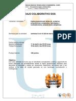 Guia de Actividades Trabajo Colaborativo Dos 2016-01