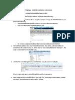 RASPlib Installation Instructions R2