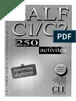 [Richard Lescure] DALF C1 C2 250 Activités(PDF){Zzzzz}[BЯ]