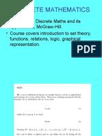 Discrete Maths
