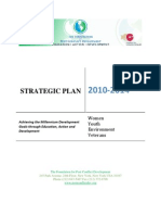 FPCD Strategic Plan 2010-2014