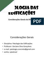 Ap1 - Conceito, Durabilidade, Causas de Patologia - Cópia
