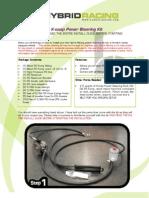 Hybrid Racing Power Steering Kit Install Guide