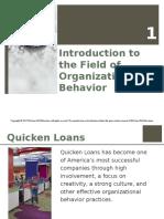 Chapter 1 Slides - Organizational Behavior