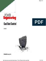 Coal Dust Control
