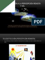 TELEDETECCION Y SIG
