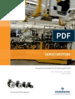 Control Techniques Servo Motors