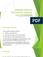 Communication in Psychiatric (1)