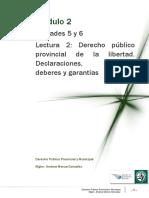 Lectura 2-Declaraciones, Derechos, Deberes y Garantias