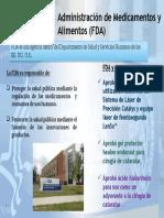 Administración de Medicamentos y Alimentos FDA