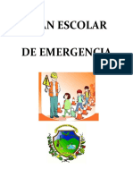 Plan Escolar de Emergencia 2015