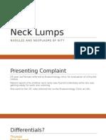 Grand Round - Neck Lumps