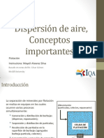 Dispersion de Aire Conceptos Importantes