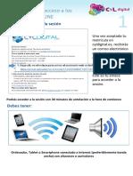 Guía de acceso a Sesion online