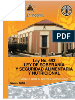 LEY DE SOBERANÍA Y SEGURIDAD ALIMENTARIA Y NUTRICIONAL