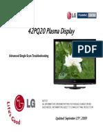 LG 42PQ20 Plasma TV Training Manual
