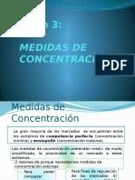 Medidas de Concentracion