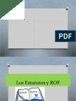 Estatutos y ROF 2