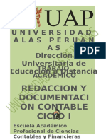 Redaccion y Documentacion Contable
