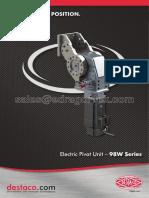 2013 dsc 98w-25 electric pivot unit brochure watermark