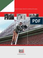 Ladder Inspection Checklist Spanish