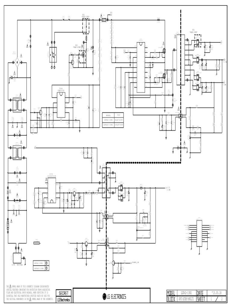 Power Supply LGP42-13R2__EAX64905401__EAY62810601 (LG LED