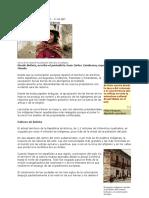 Bolivia Tierra y Racismo