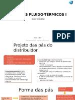 Projeto Das Pás Do Distribuidor SisFlu