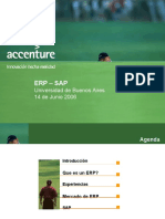 Accenture - ERP - SAP