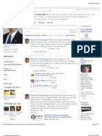 Chandra-Krikorian Facebook Dialogue