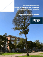 Autoevaluación Programa de Química UN